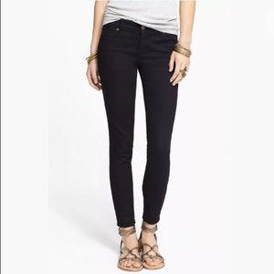 Free people black skinny jeans 26